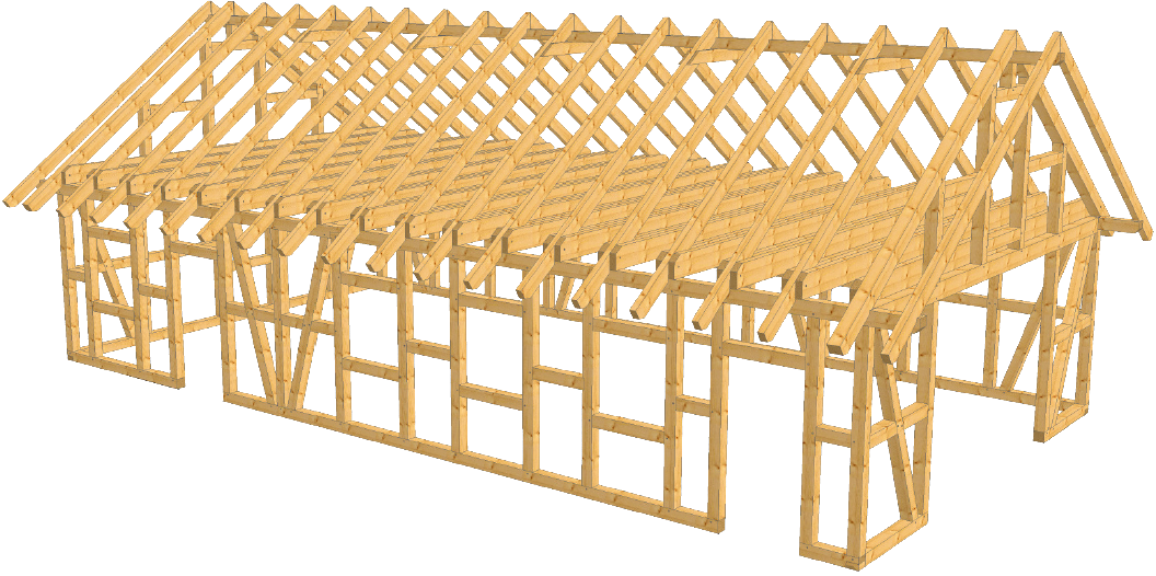fachwerk garage cottbus als bausatz carport beelitz. Black Bedroom Furniture Sets. Home Design Ideas