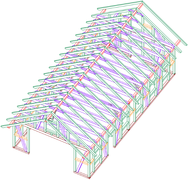 Fachwerk Carport: Kall Als Bausatz