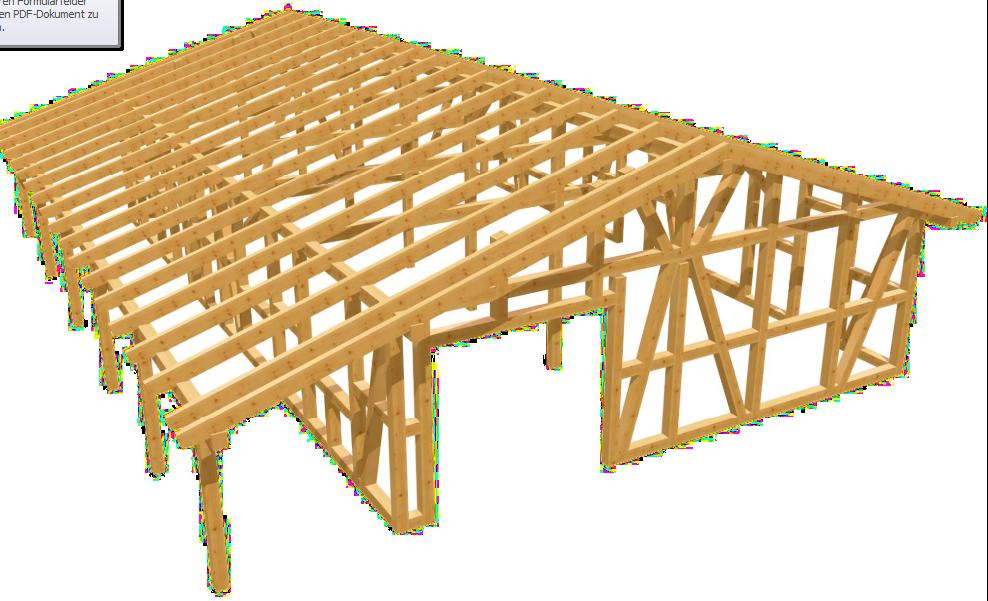 fachwerk garage wei wasser als bausatz carport beelitz. Black Bedroom Furniture Sets. Home Design Ideas