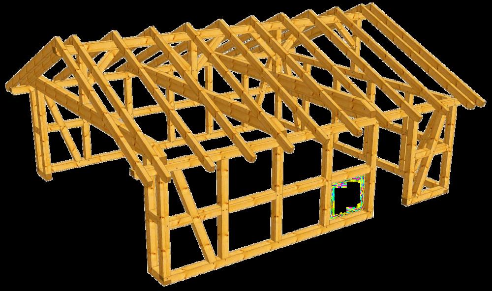 Fachwerk Garage Bonn Als Bausatz Carport Beelitz